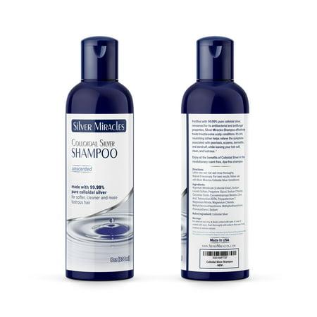 Colloidal Silver Shampoo - 8 oz (Colloidal Oatmeal Shampoo)