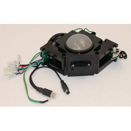 Track Ball 3 inch Arcade Game Trackball for PC or MAC USB, PS2 and Jamma + Mame (Ps4 Play Games With Keyboard And Mouse)