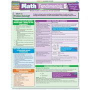 BarCharts 9781423215059 Math Fundamentals 5 - Word Problems Quickstudy Easel
