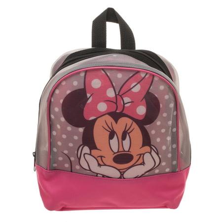 b65ad0341e6 Minnie Mouse Mesh Mini Backpack – BrickSeek