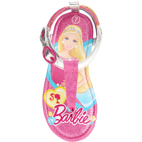 Barbie Toddler Girls' Thong Sandal