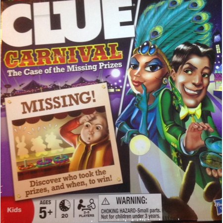 Halloween Carnival Games Ideas (Carnival The Case Of The Missing PrizesTwo-sided board has 2 levels of play, so the game grows with the kids By)