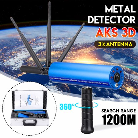 AKS 3D Pro Handhold Metal/Gold Detector Diamond Finder Detecting Machine 3937ft Long (Best Metal Detecting Sites In Michigan)