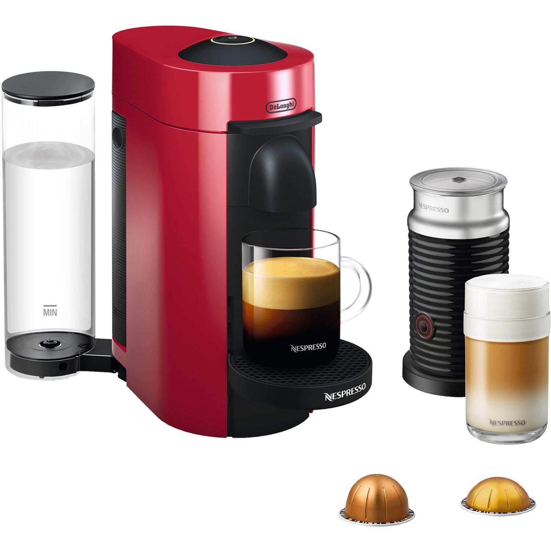 Nespresso Vertuoplus Coffee And Espresso Maker Bundle With Aeroccino