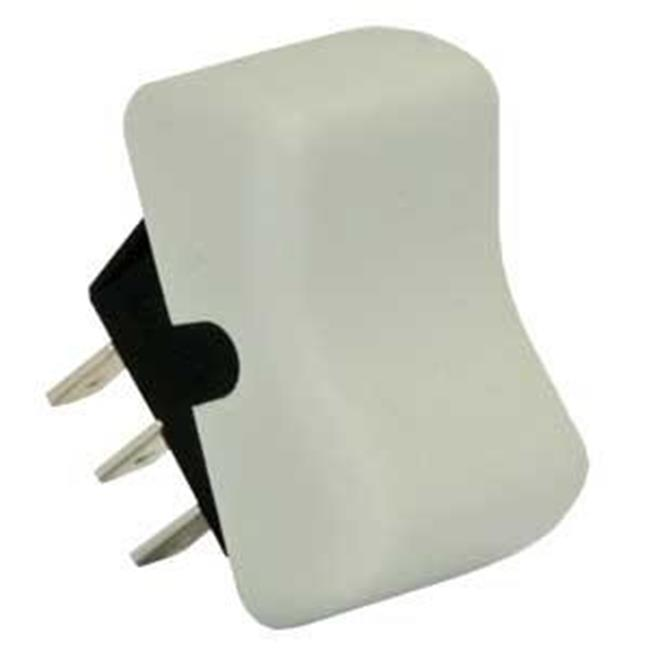 JR PRODUCTS 13035 Dc Power Dpdt On-On Switch - White - image 1 of 1