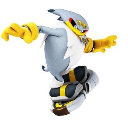 Sonic The Hedgehog Free Riders Storm Action Figure ()