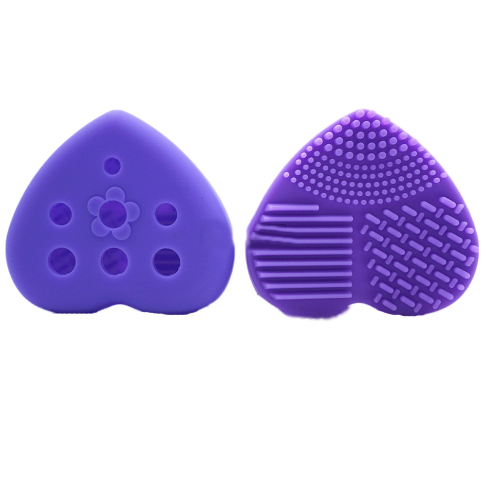 Mosunx Silicone Hollow Out Egg Cleaning Glove Makeup Washing Brush Scrubber Tool Cleane