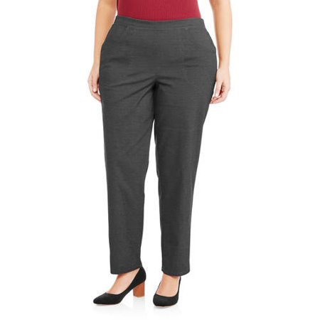 Just My Size Women's Plus-Size 2-Pocket Stretch Pull-On Pant