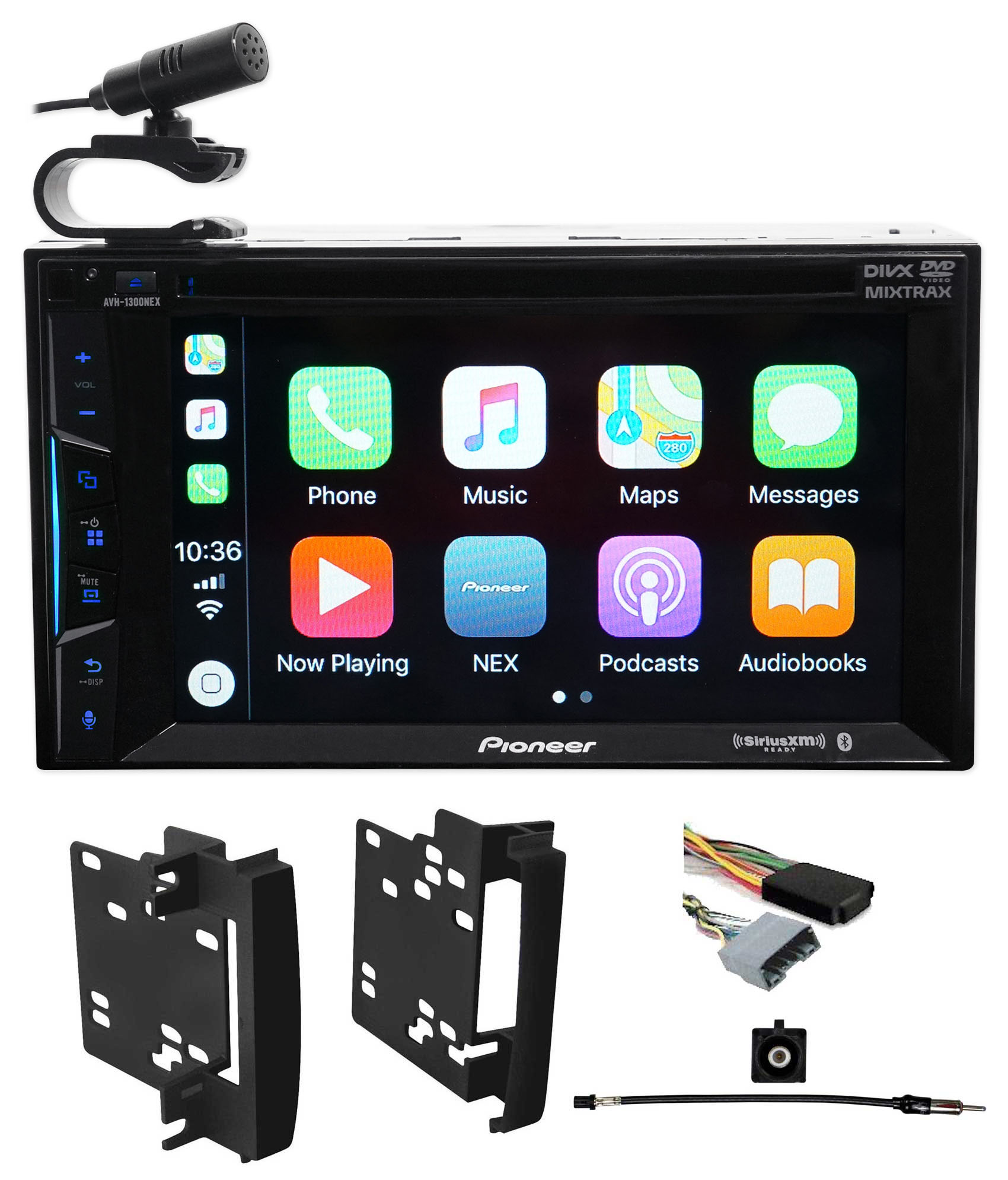 Pioneer Bluetooth DVD Receiver iPhone Android CarPlay For 08-14 Dodge Challenger by Pioneer