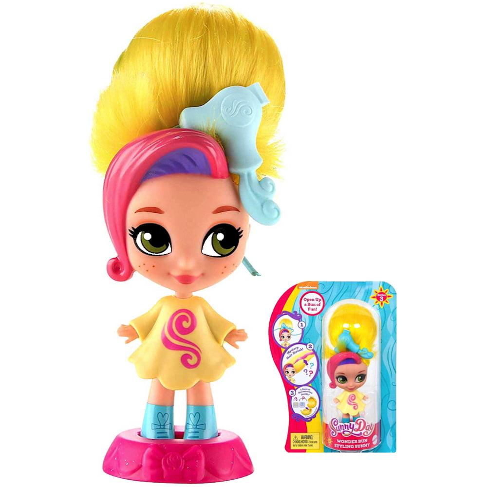"Sunny Day Wonder Bun Styling Sunny Doll 3.5"""