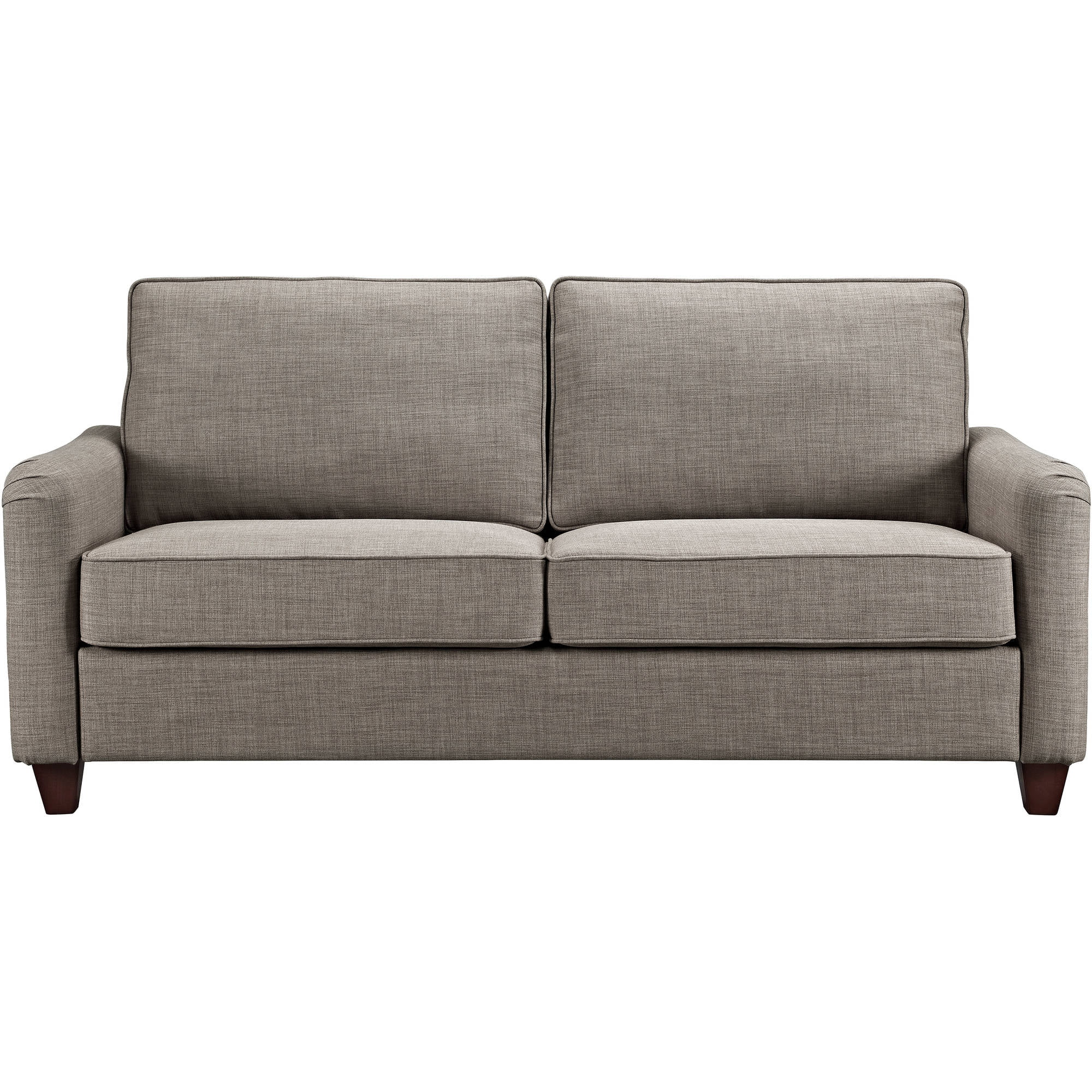 Sofa Furniture better homes and gardens grayson sofa with nailheads, grey