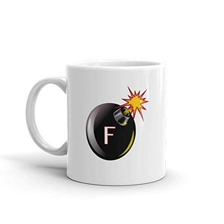 F Bomb Funny Novelty Humor 11oz White Ceramic Glass Coffee Tea Mug Cup](Jager Bomb Cups)