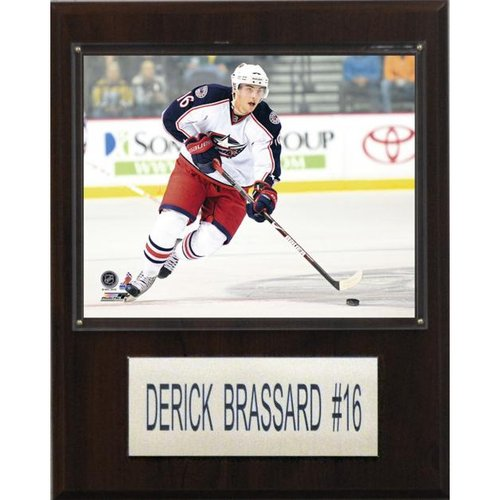 "NHL 12""x15"" Derick Brassard Columbus Blue Jackets Player Plaque"