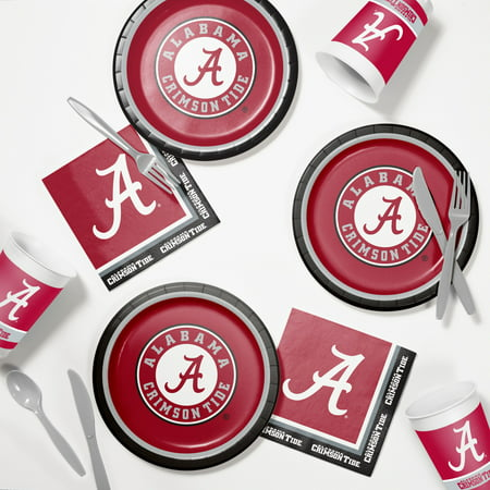 University of Alabama Tailgating Kit - University Of Alabama Party Supplies