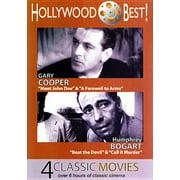 HOLLYWOOD BEST-GARY COOPER & HUMPHREY GOGART-4 CLASSIC MOVIES (DVD/B&W) - Classic Hollywood Theme