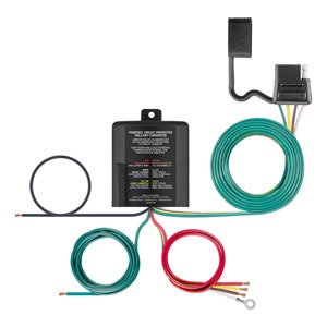 Curt Hitch 56236 Tail Light Converter Converts 2 Wire 3 Wire Or Pwm St System To 2 Wire With 4 Way Flat Output Without Wiring Kit Walmart Canada