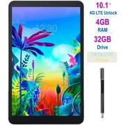 LG G Pad 5 10.1-inch (1920x1200) 4GB LTE Unlocked Tablet, 4GB RAM, 32GB Storage, Fingerprint, Android 9.0 w/ Mazepoly 2 in 1 Stylus Pen (Renewed)