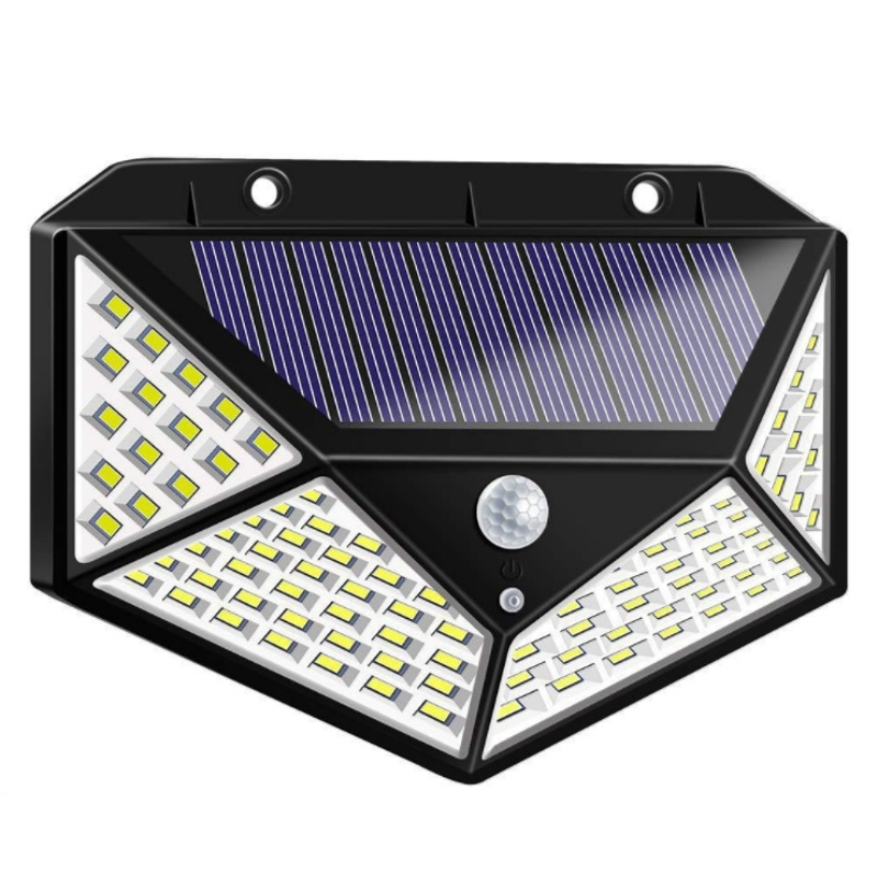 Motion Sensor Solar Lights Outdoor 208 LED Wireless 270° Wide Angle Waterproof
