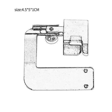 Home Multifunctional Sewing Machine Crimping Presser Foot Presser Foot - image 3 of 6
