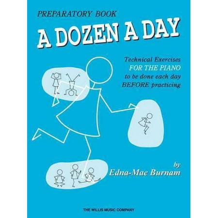 Dozen a Day: A Dozen a Day Preparatory Book (Other)