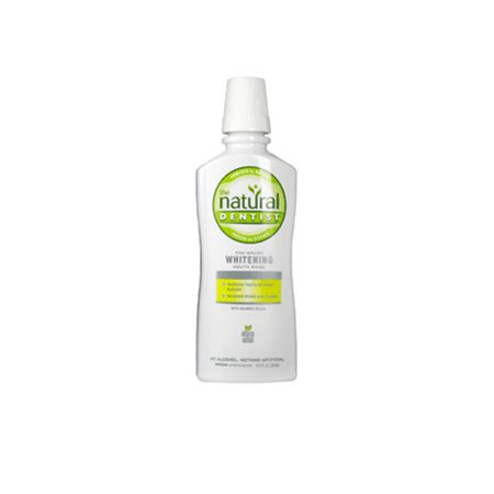Splash Mount Pre Rinse (The Natural Dentist Pre-Brush Antigingivitis Whitening Mouth Rinse, Clean Mint - 16 Oz)