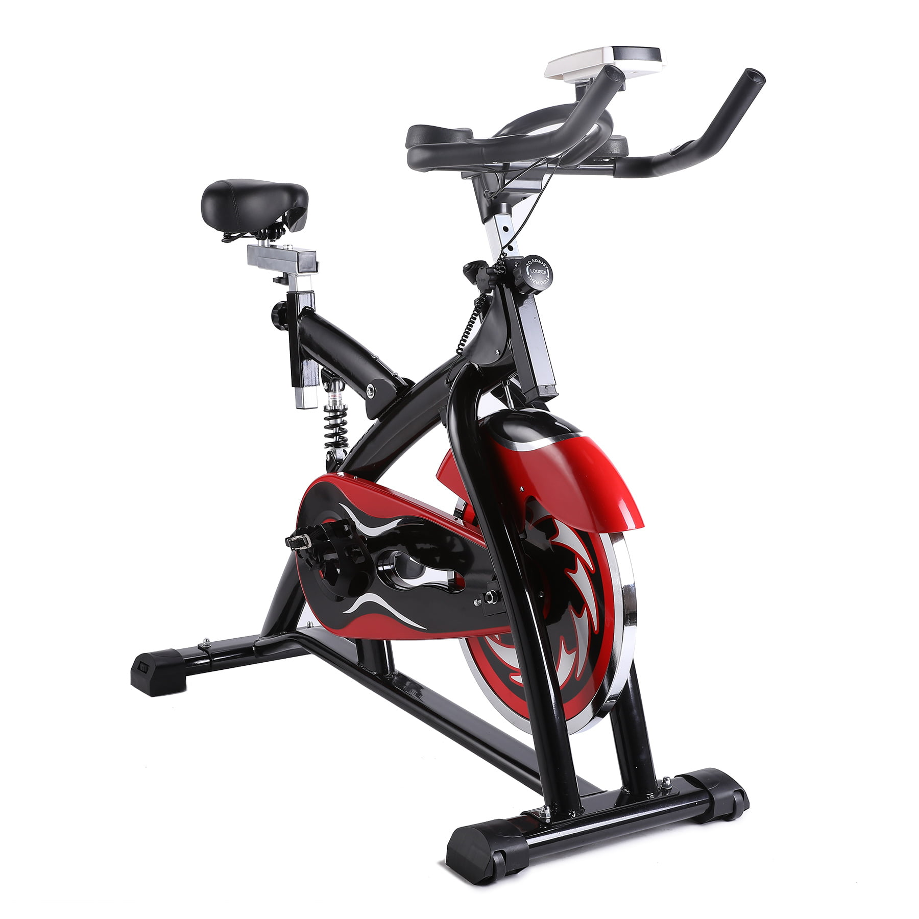 Ultra-quiet Stationary Exercise Bike Indoor Cycling
