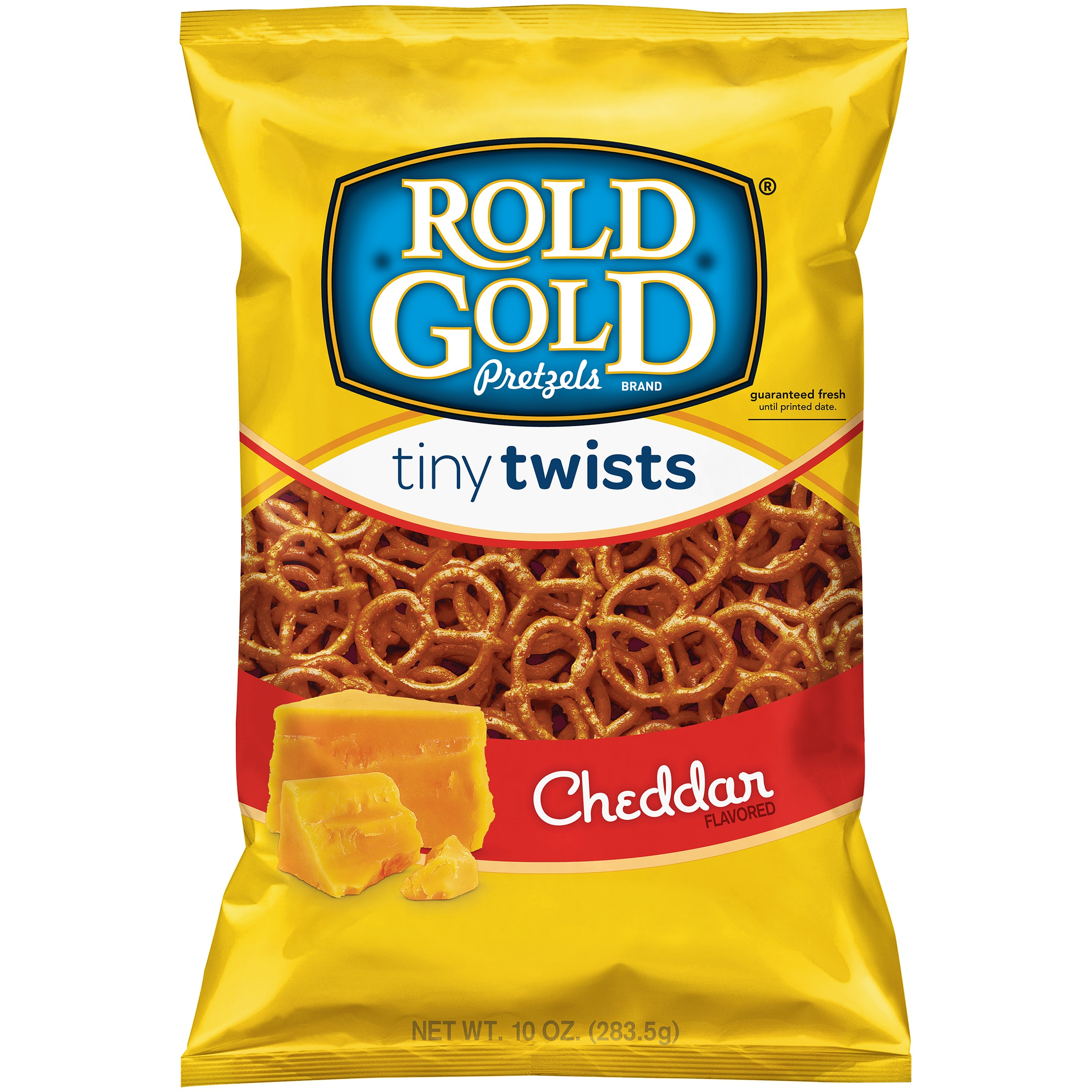 Rold Gold Tiny Twists Cheddar Pretzels 10 oz. Bag by Frito–Lay, Inc.