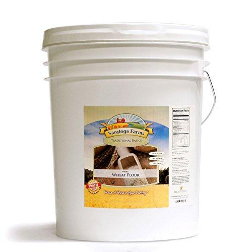 Saratoga Farms Whole Wheat Flour ValueBUCKET by Saratoga Farms