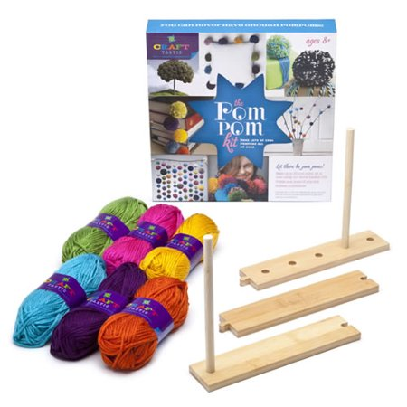 Craft tastic pom pom arts crafts kit for Walmart arts and crafts