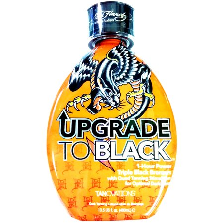 Ed Hardy Upgrade To Black 1 Hour Power Bronzer Indoor Tanning Bed