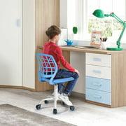 FurnitureR Teen Student Task Chair Swivel Mesh Office Chair, Lovely Cute Colors