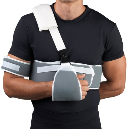 - OTC Sling and Swathe Shoulder Immobilizer, Grey, Universal