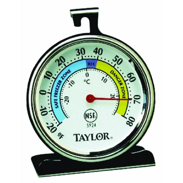 Classic Freezer and Refrigerator Kitchen Thermometer