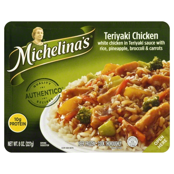 Michelina's Teriyaki Chicken, 8 oz
