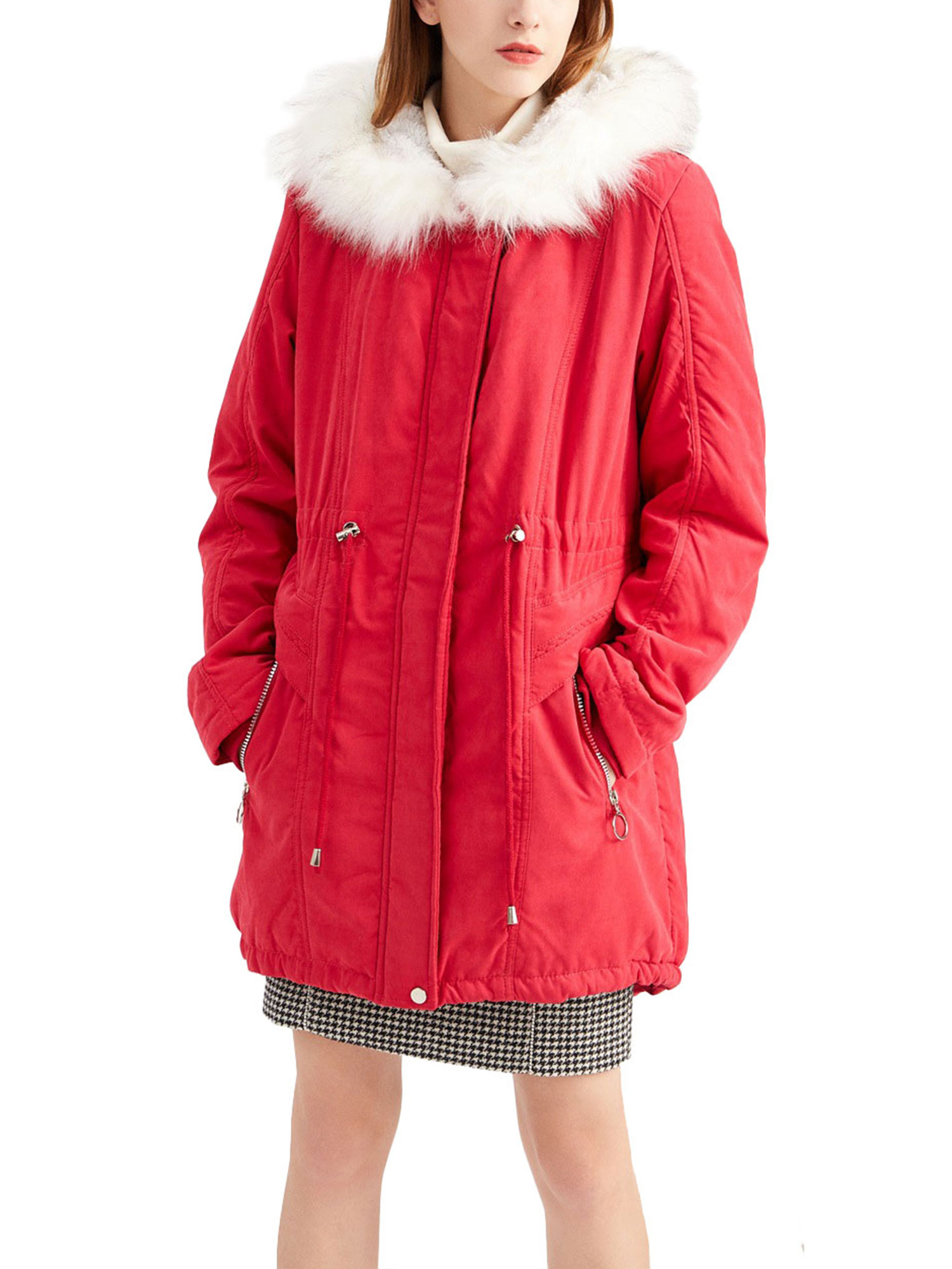 Children Jacket Coat Hooded Boys Camouflage Velvet Lining Warm Thicken Outwear