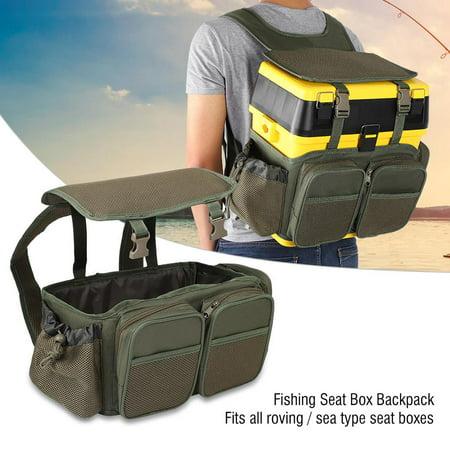 YLSHRF Fishing Seat Box Backpack Converter Roving Fishing Stalking Carrier Bag , Fishing Seat Box Backpack, Fishing