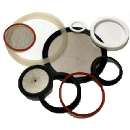 Springer Parts 40MPSX-1.5SP Scr. Gasket 1.5 SIL WHT; Replaces Part# 40MPSX-1.5