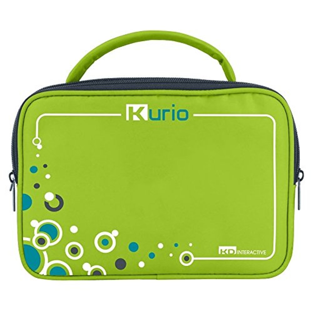 Kurio Case Touch Screen Tablet Carry Case Travel Bag, Green