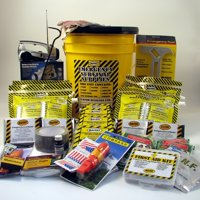 MAYDAY KEX4P 4 Person Deluxe Emergency Honey Bucket Kit