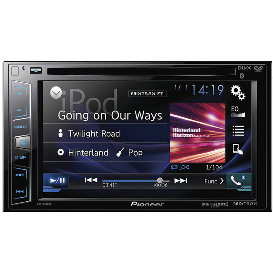 "Pioneer AVH-X390BS 6.2"" Double-DIN In-Dash DVD Receiver with Bluetooth and SiriusXM... by Pioneer"