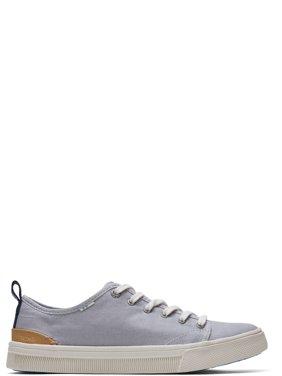 TOMS Women's Drizzle Grey Canvas Trvl Lite Low Sneakers