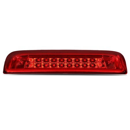 3rd Brake Light Decal - for 14-18 gmc sierra / chevy silverado dual row led third brake lights lamps (red lens) gmt k2xx