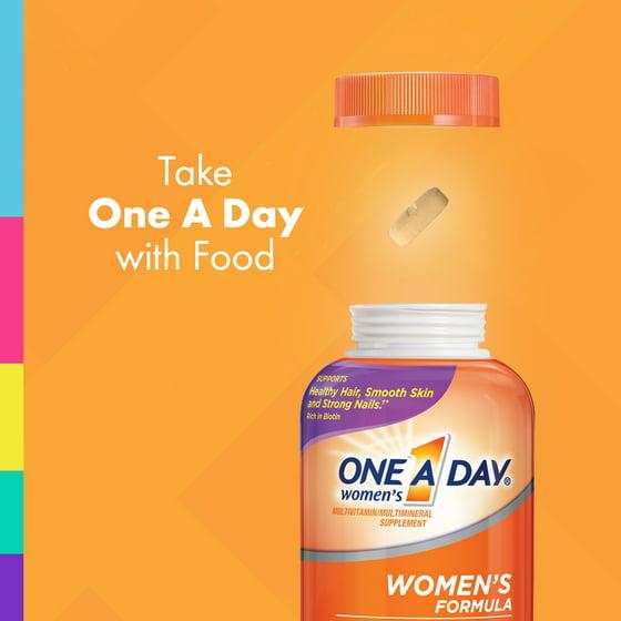 Kết quả hình ảnh cho One A Day® Women's Formula Overview.