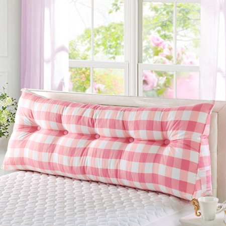 Wowmax Large Filled Triangular Sofa Bed Back Cushion