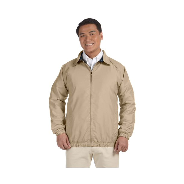 Harriton Men's Water-Resistant Microfiber Club Jacket, Style M710