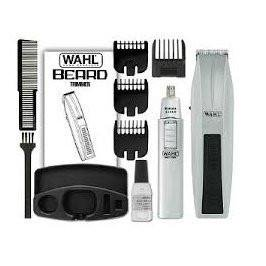 Wahl 5537 420 Moustache And Beard Trimmer And Nose - Goatee Beard Without Moustache