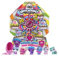 Hatchimals CollEGGtibles, Mystery Wheel with 20 Surprises to Unbox (Style May Vary), for Kids Aged 5 and up