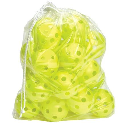 11 Practice Softball (Hot Glove Optic Yellow Practice Softballs - Bag of)