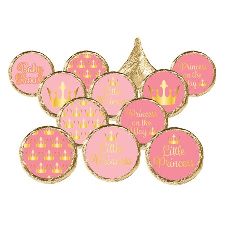 Party City Princess Baby Shower (Princess Baby Shower Stickers 324 count - Princess Baby Shower Decorations Royal Baby Shower Party Supplies Little Princess Baby Shower Favors - 324 Count)