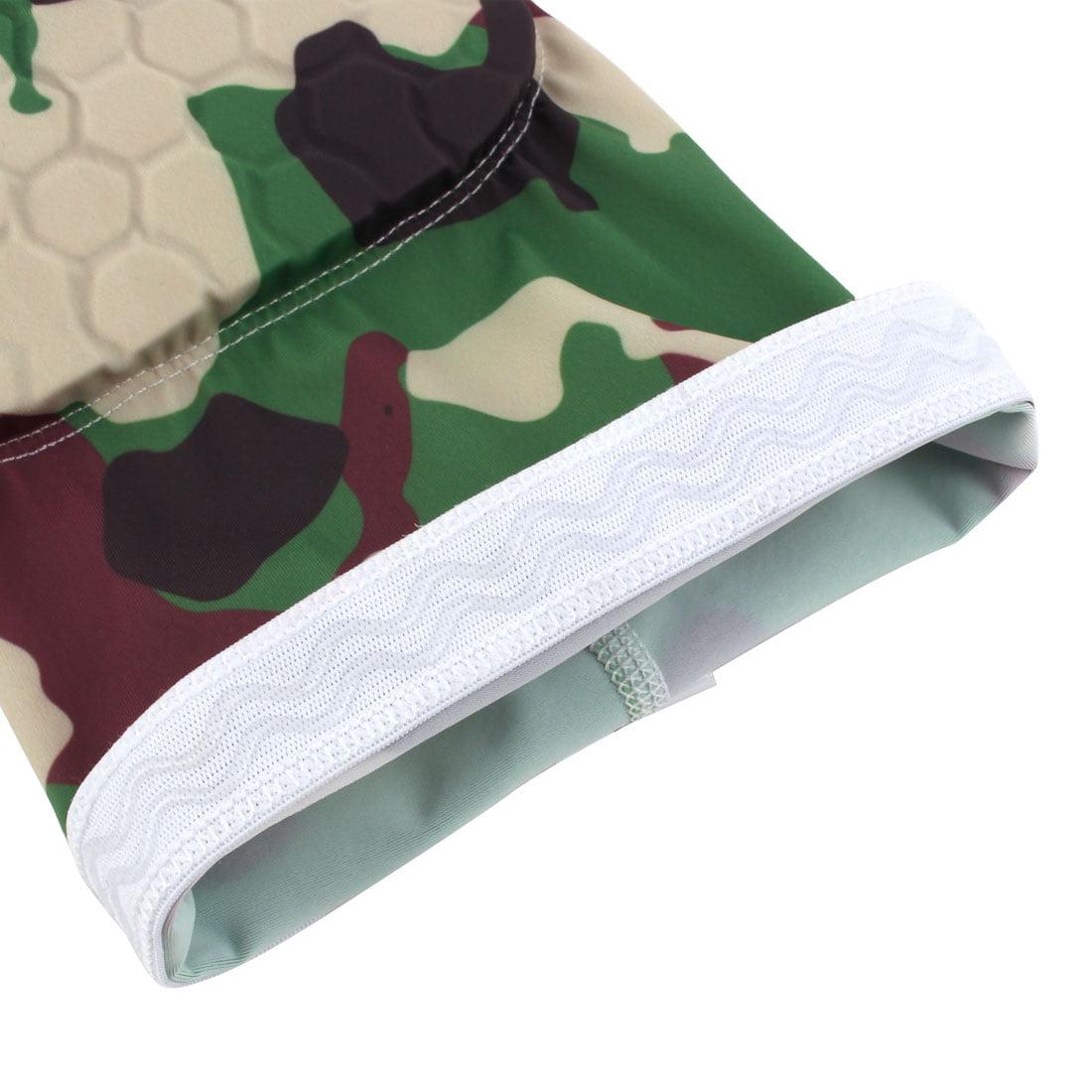 Basketball Patella Knee Brace Leg Sleeve Wrap Support Camouflage Green XL Pair - image 1 de 6